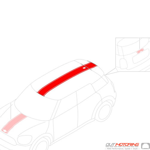 Stripe Set: Roof: Red