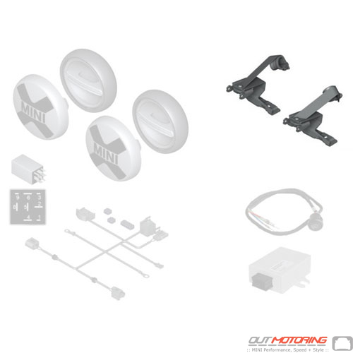 Foglight Bracket Set: F60