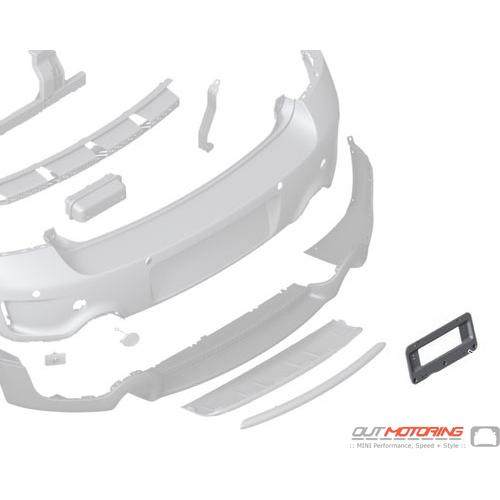License Plate Holder: Rear R60/R61