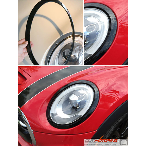 Headlight Trim: F55/56/57: Left Gloss Black
