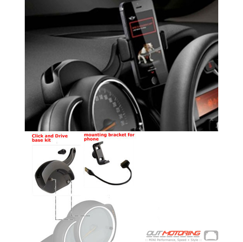 Click + Drive System: Attachment: iPhone 4