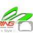 Side Marker Housing Inserts: R60/1: Green