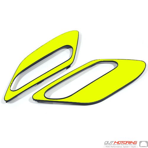 Side Marker Housing Inserts: R60/1: Yellow