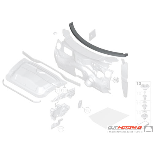 Noise Insulation: Windshield: Cockpit