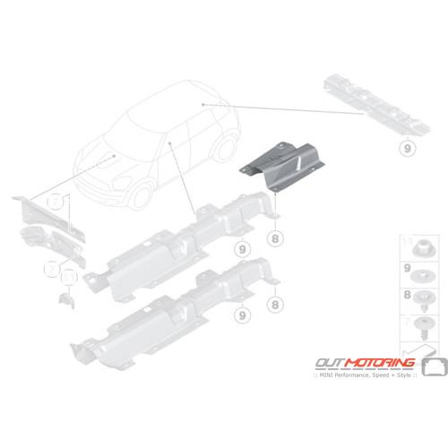 Fuel Tank Heat Insulator