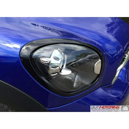 Headlight Trim: R60/61: Gloss Black: Right