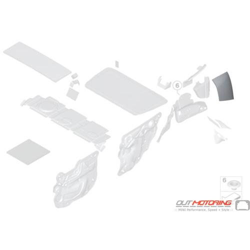 Sound Insulating: Side Frame: Rear Left