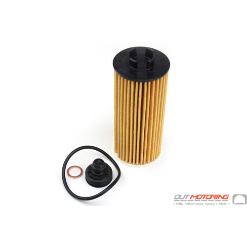 Oil Filter Element: Gen3: UP to 12/2019: Mahle