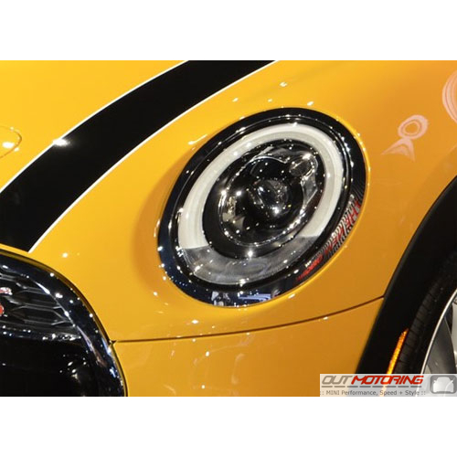 Mn013 Mini Headlight Protective Film Clear F55 F56 F57 Mini Cooper