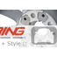 Grip Spoke JCW 520 MINI LA Wheel: Light Alloy Rim: Silver