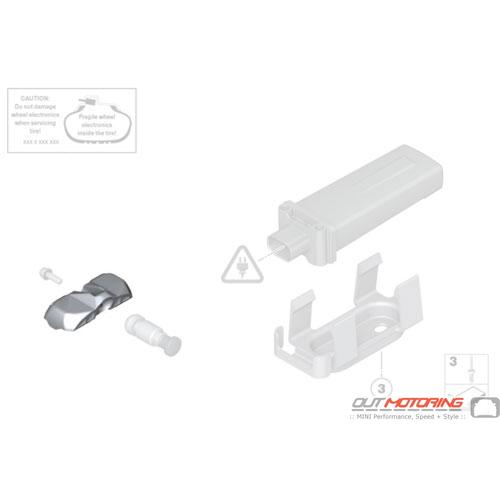Wheel Electronics Module: RDC 433Mhz