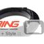 Trim Ring: Center Console: Black