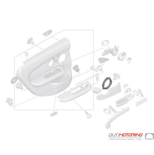 Spacer Ring: Speaker: Rear: Left