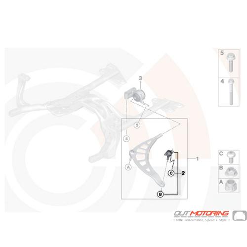 Repair Kit Wheel Guide Joint