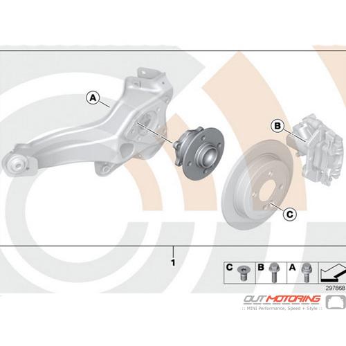 Wheel Bearing Repair Kit Rear