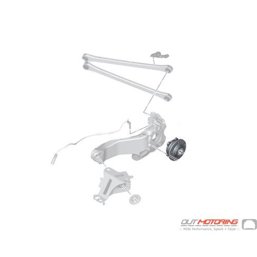 Wheel Bearing/Hub: Rear: R60/1