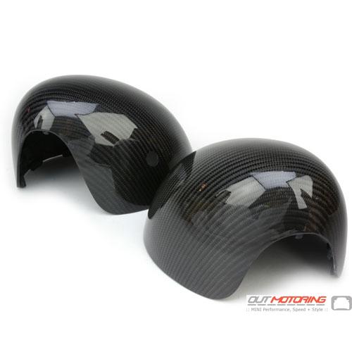 Side Mirror Caps: Gen3: Carbon Fiber