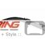 Taillight Trim: F55/6/7: Set: Gloss Black