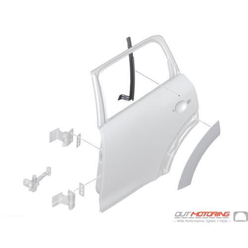 Window Guide Rail: Rear Left