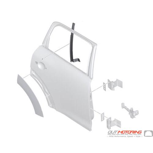 Window Guide Rail: Rear Right