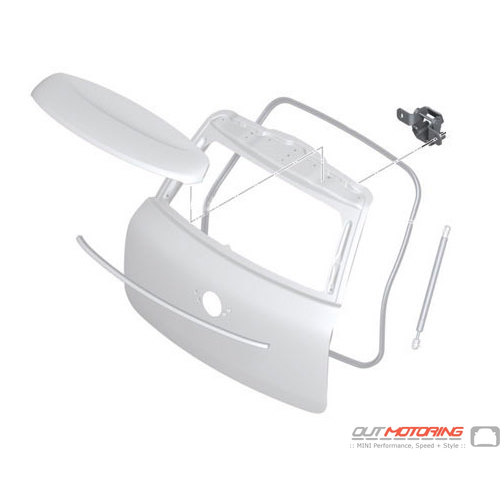 Trunk Lid Hinge: Right