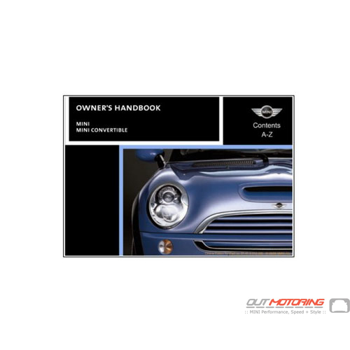 MINI Cooper Manual: R50, R52, R53