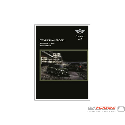MINI Cooper Manual: R60, 61 w/ GPS
