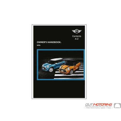 MINI Cooper Manual: F55, 56 w/ GPS