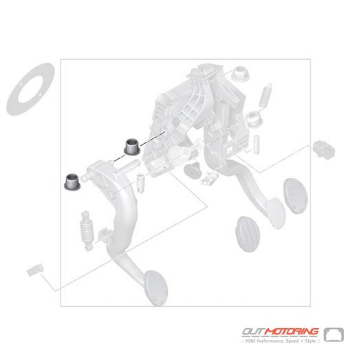 Clutch Pedal: Bushing