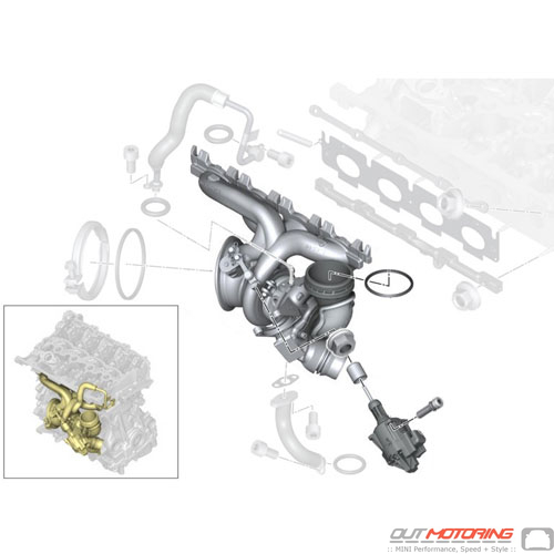 Exchange Turbocharger w/ Exhaust Manifold