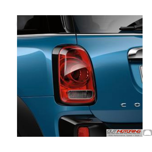 Taillight Trim Ring: Black: Set: F60