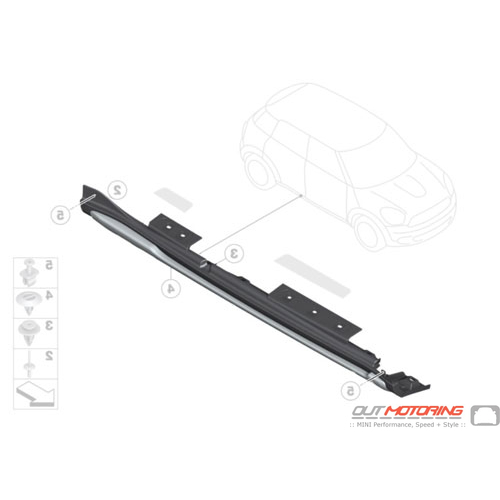 Door Sill Cover: Right