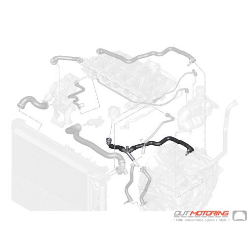 Line: Turbocharger- Heat Exchanger
