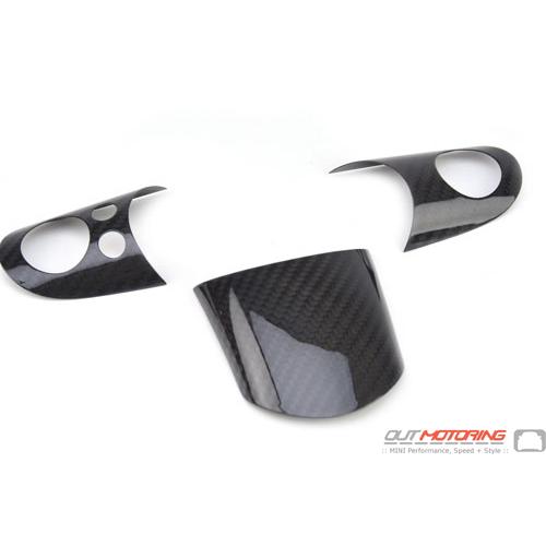 Steering Wheel Trim: Carbon Fiber