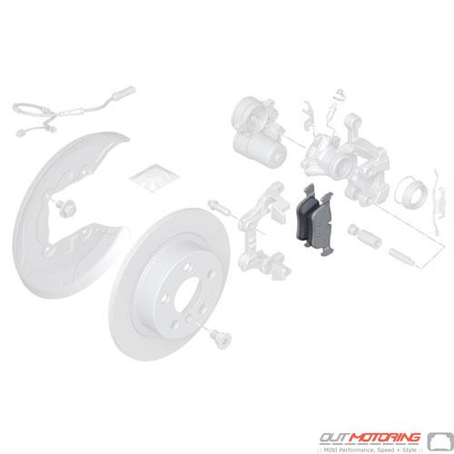 Repair Kit: Brake Pad