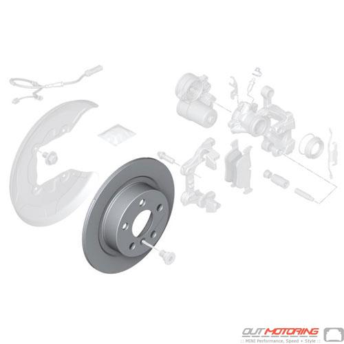 Brake Disc: Rear