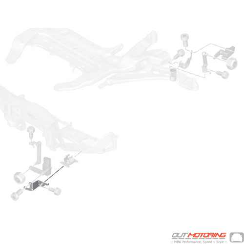 Bracket: Height Sensor Rear