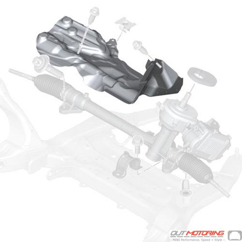 Heat Resistant Plate: Steering Box