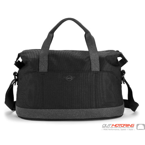 Weekender Bag: Black/Gray