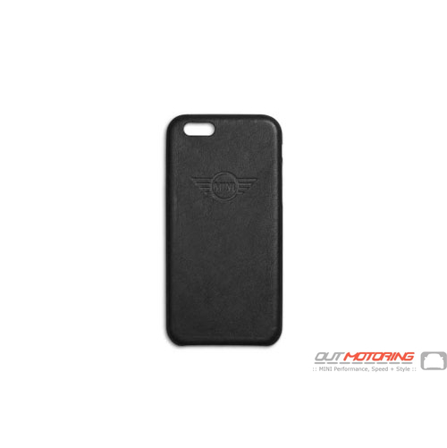 iPhone Cover: Black
