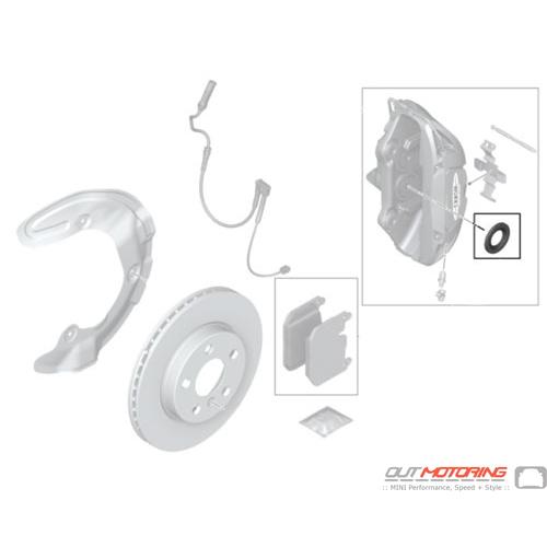 Repair Set: Brake Caliper: Front