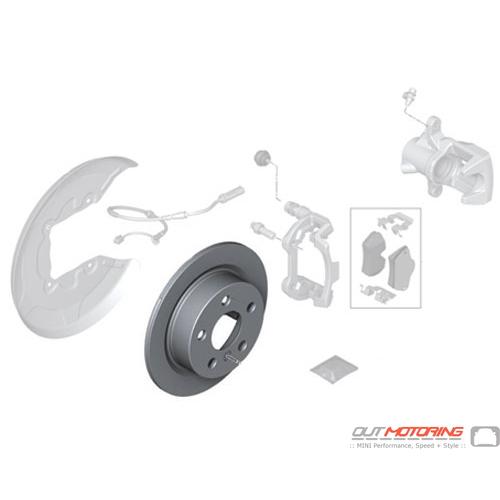 Brake Rotor: Rear