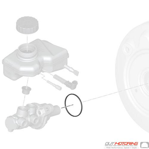 O-Ring: Brake Master Cylinder