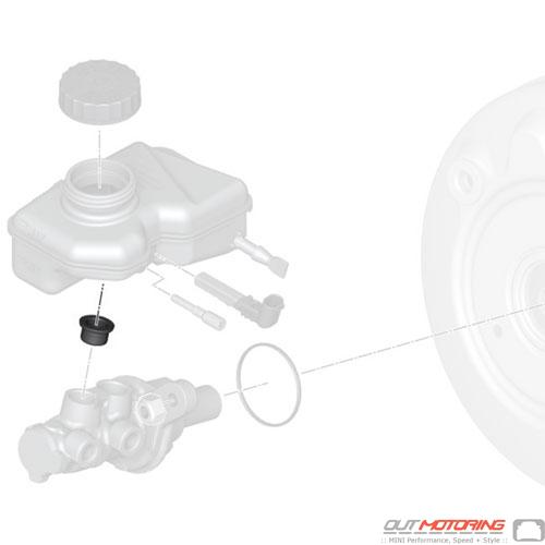 Plug: Brake Master Cylinder