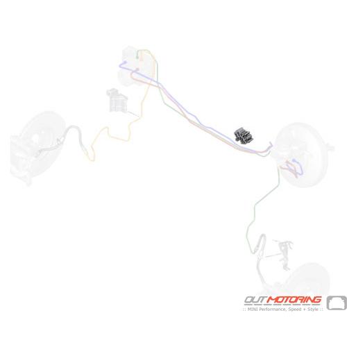 34306858580 Mini Cooper Replacement Wiring Clip  5 Clamp