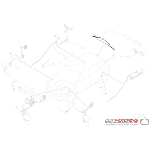 Wiring Kit: Rear: Trunk Lid