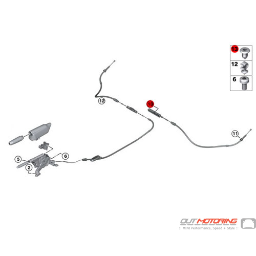 Clip: Bowden Cable