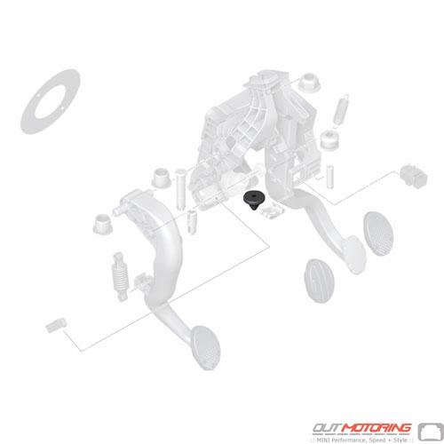 Clutch Pedal Stop Buffer