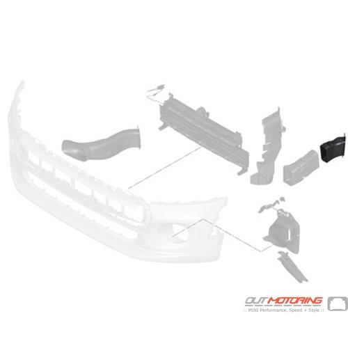 Air Brake Duct: Left Wheelhousing