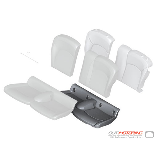 Foam Pad: Rear Seat
